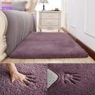 簡約現代加厚羊羔絨床前床邊臥室地毯客廳地...