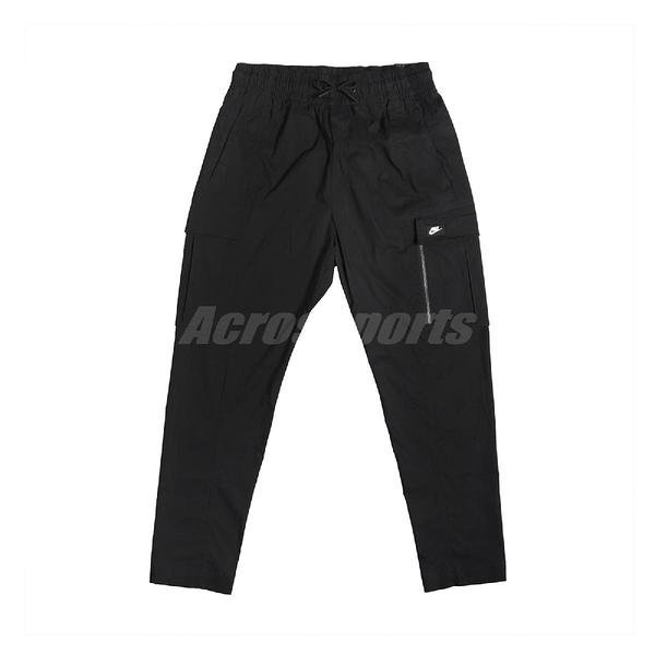 Nike 長褲 NSW Cargo Pants 黑 白 男款 運動休閒 【ACS】 BV3128-010
