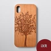 Woodu 木製手機殼 永生樹 iPhone XR適用