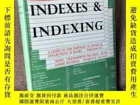 二手書博民逛書店Indexes罕見& Indexing(羅伯特·L.科裏森《索引要義》,難找的書,布面精裝帶護封