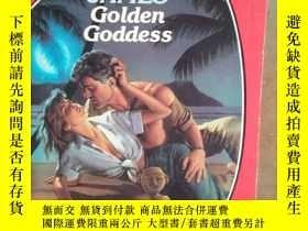 二手書博民逛書店Golden罕見goddess 英文原版口袋書(目前 孤本)Y1