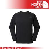 【The North Face 男 FlashDry 輕暖圓領衫《黑》】CL86-JK3/吸濕排汗/運動衣/建身/戶外/登山★滿額送