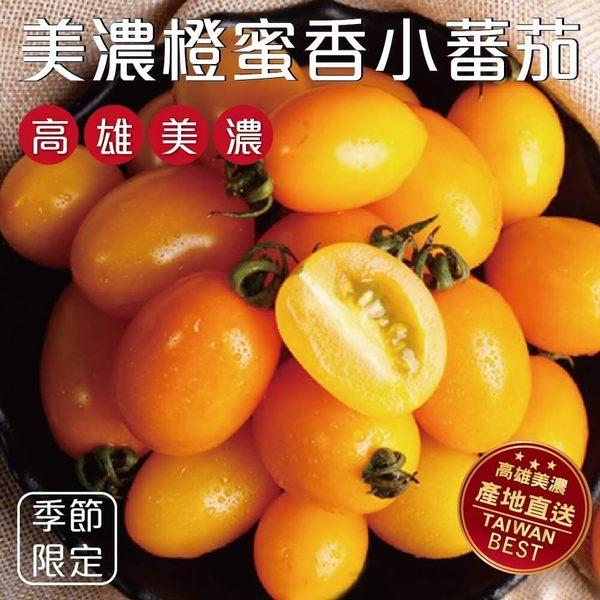 【果之蔬-全省免運】橙蜜香小蕃茄X1箱(2.5斤±10%/箱)