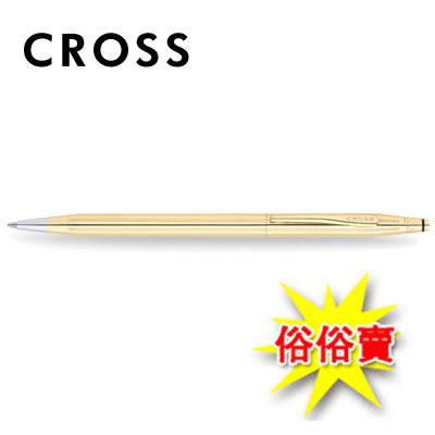 限量商品,售完為止 【CROSS】經典世紀系列 18K包金 2802原子筆 / 支