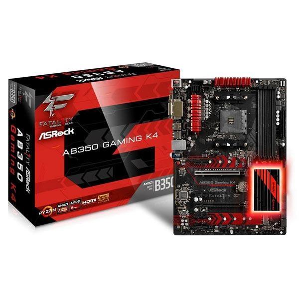 華擎 ASRock AB350 Gaming K4 AMD AM4 ATX 主機板