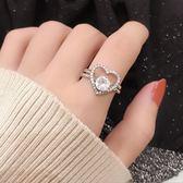 【雙十二】預熱S925純銀情侶戒指男女款抖音同款一對莫比烏斯環指環開口可調整     巴黎街頭