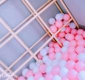海洋球 網紅牆海洋球馬卡龍粉色白色波波球海洋球球池網紅房間裝飾海洋球T