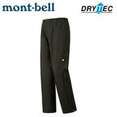【Mont-Bell 日本 女 Thunder Passm 雨褲《灰》】1128638/防風防水透氣長褲/風雨褲/登山