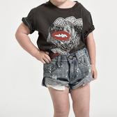 ONETEASPOON CULT CLASSIC DEN SHO 牛仔短褲- KIDS BANDITS-童裝(藍)