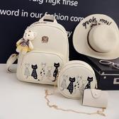 書包減壓書包2018新款正韓女童小背包時尚可愛兒童潮女孩旅游包包小學生後背包 快速出貨