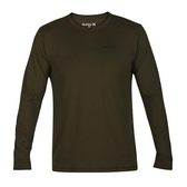 Hurley DRI-FIT ONE AND ONLY 2.0 LONG SLEEVE 長袖T恤-DRI FIT-綠(男)