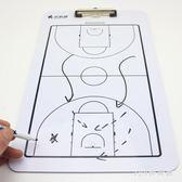 籃球戰術板訓練教練員戰術盤圖示板沙盤等/武科星6012籃球戰術板 LH2202【123休閒館】
