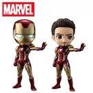 【日本正版】Q posket 鋼鐵人 公仔 模型 Marvel 漫威英雄 Banpresto 萬普 169799 169805