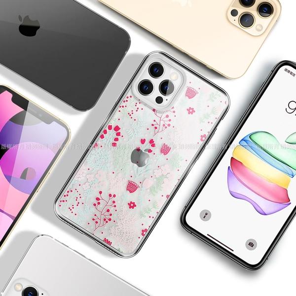 MOOTUN for iPhone 12 Pro Max 6.7 防護晶透保護殼- 滿版小雛菊 / 繽紛小花草 請選款式