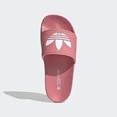 Adidas Adilette Lite W [FX5928] 女鞋 運動休閒 柔軟 簡約 涼鞋 拖鞋 海灘 夏天 粉紅