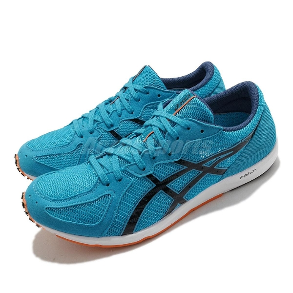Asics 競速跑鞋 Sortiemagic LT 2 男 淺藍 支撐型 穩定 訓練【ACS】 1093A093402
