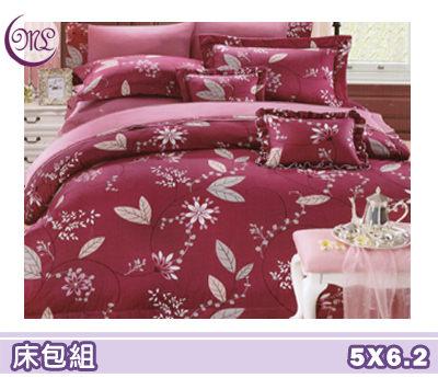【Jenny Silk名床】花語宣言.100%精梳棉.標準雙人床包組.全程臺灣製造