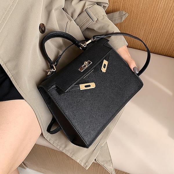 手提包 高級感小包包女新款潮 時尚百搭手提凱莉包 側背包 單肩斜背包 店慶降價