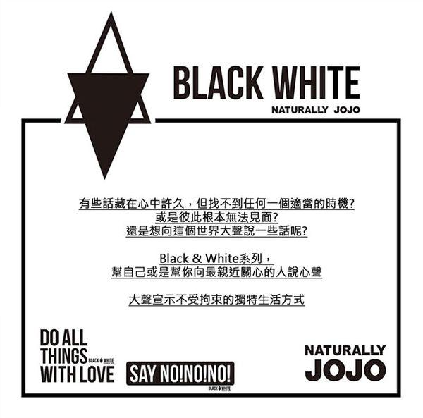 Black & White Voice T-shirt-我很好(White)