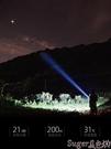 手電筒 手電筒強光可充電超亮小氙氣1000戶外w便攜小家用多功能led遠射燈 新品