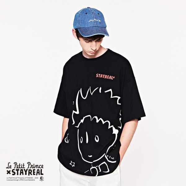 STAYREAL x Le Petit Prince 星空小王子寬版T