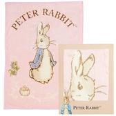 【奇哥】比得兔幼兒毛毯禮盒 100x140公分(粉)