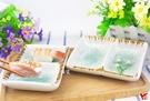 【堯峰陶瓷】日式餐具 綠如意系列 5吋兩格碟(單入)馬卡龍碟|醬料碟|水果碟|泡菜碟|套組餐具系列
