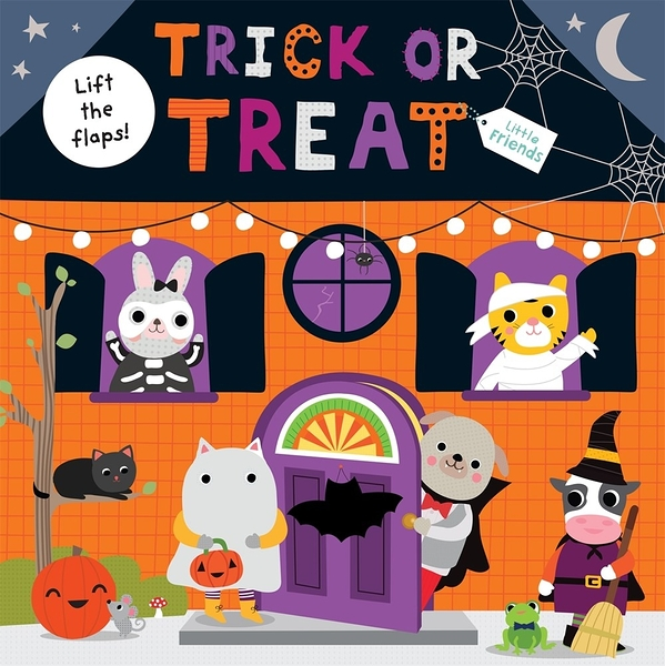 【萬聖節翻翻書】LITTLE FRIENDS : TRICK OR TREAT/翻翻書