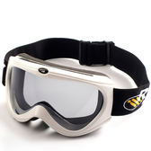 Snow Travel 雪之旅 AR-34白色 抗UV雪鏡/滑雪鏡 防霧遮陽/抗紫外線鏡/防BB彈/漆彈