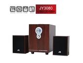 【超人百貨K】JS 淇譽 2.1 聲道 全木質 多媒體喇叭 JY3080 可讀取USB/SD卡