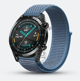 適用華為华为Watch3表带表帶智能手表watch3/2 Pro尼龍編織帆布運動【輕派工作室】