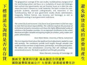二手書博民逛書店Fiscal罕見Austerity and Innovation
