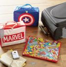 【京之物語】日本代購迪士尼英雄聯盟美國隊長/MARVEL字母衣物收納袋-預購商品
