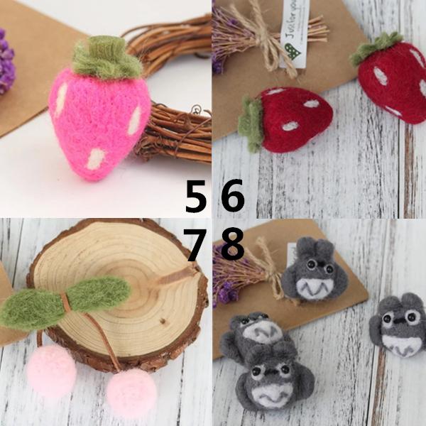 永生花花環花束聖誕樹,造型羊毛氈,DIY材料