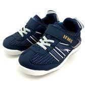 《7+1童鞋》中童 日本 IFME 輕量  機能  運動鞋  C430  藍色