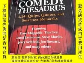 二手書博民逛書店The罕見Comedy Thesaurus 3241 Quips