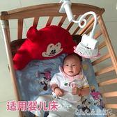 嬰兒推車USB小風扇寶寶床上電風扇迷你夾式bb可充電USB『CR水晶鞋坊』