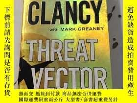 二手書博民逛書店Threat罕見VectorY25376 Tom Clancy