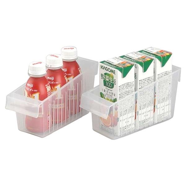 日本製造INOMATA冰箱冷藏 拉取式深型收納籃(小)