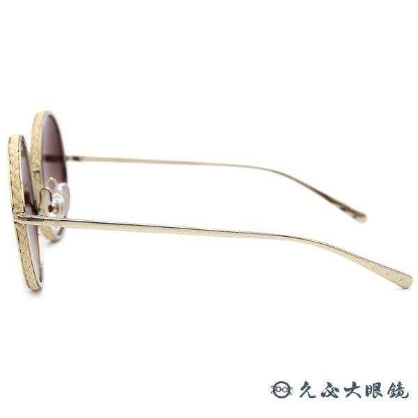 CHANEL 香奈兒 太陽眼鏡 4250 (金) 麻繩 復古 圓框 墨鏡 久必大眼鏡