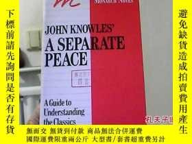 二手書博民逛書店John罕見Knowles a Separate Peace1