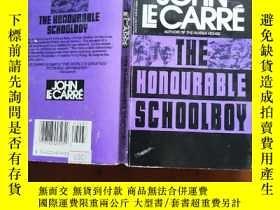 二手書博民逛書店The罕見Honourable Schoolboy 【約翰·勒卡