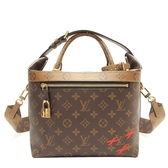 LOUIS VUITTON LV 路易威登 原花雙色手提肩背 City Cruiser PM Bag M42410 BRAND OFF