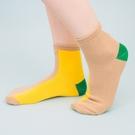 電色空間短筒棉襪(卡其)