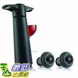 [9美國直購] 真空開瓶器 2 PACK Vacu Vin Wine Saver Pump with 2 x Vacuum Bottle Stoppers - BRAND NEW