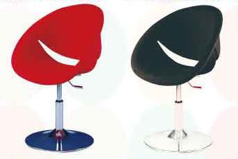 【南洋風休閒傢俱】微笑椅 造型椅 絨布轉椅 設計單椅 創意椅(534-22)
