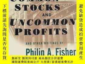 二手書博民逛書店Common罕見Stocks and Uncommon Profits and Other Writings 【英