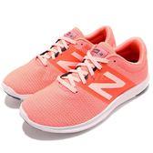 New Balance 慢跑鞋 WKOZECF1 D NB 橘 白 運動鞋 輕量化 女鞋【PUMP306】 WKOZECF1D