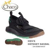【速捷戶外】美國 Chaco CH-ODM01HF27 越野紓壓水陸鞋-標準 男款(蠟黑)  ODYSSEY ,戶外涼鞋,佳扣