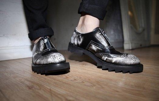 鬆糕鞋 復古刷色 真皮 歐美 大款 雕花 皮鞋 馬丁 休閒鞋